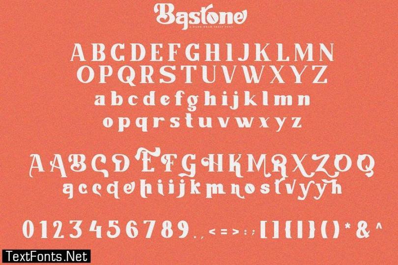 San Meira | Blackletter Typeface