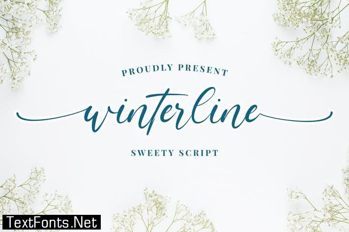winterline - Sweety Script