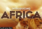 Africa Font