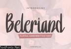 Beleriand Handwriten Font