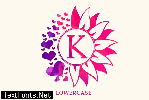 Bunga Monogram Font