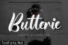 Butterie Font