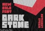 Dark Stone - Extra Bold Font