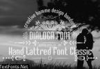 Dialoga Font