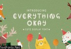 Everythink Okay Font