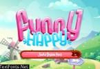 Funny Happy Joyful Display Font