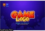 Game Logo Text Effects for Illustrator 3HPS5ZG