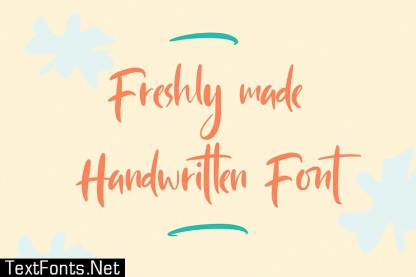 Gotlicks Handwritten Display Font