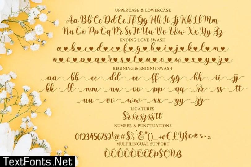 jacky betty - Lovely Calligraphy
