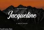 Jaqueline Handwritten Font