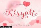 Kisyah Loved Font