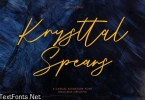 Krysttal Spears Casual Signature Font