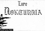 Lore Nokturnia Font