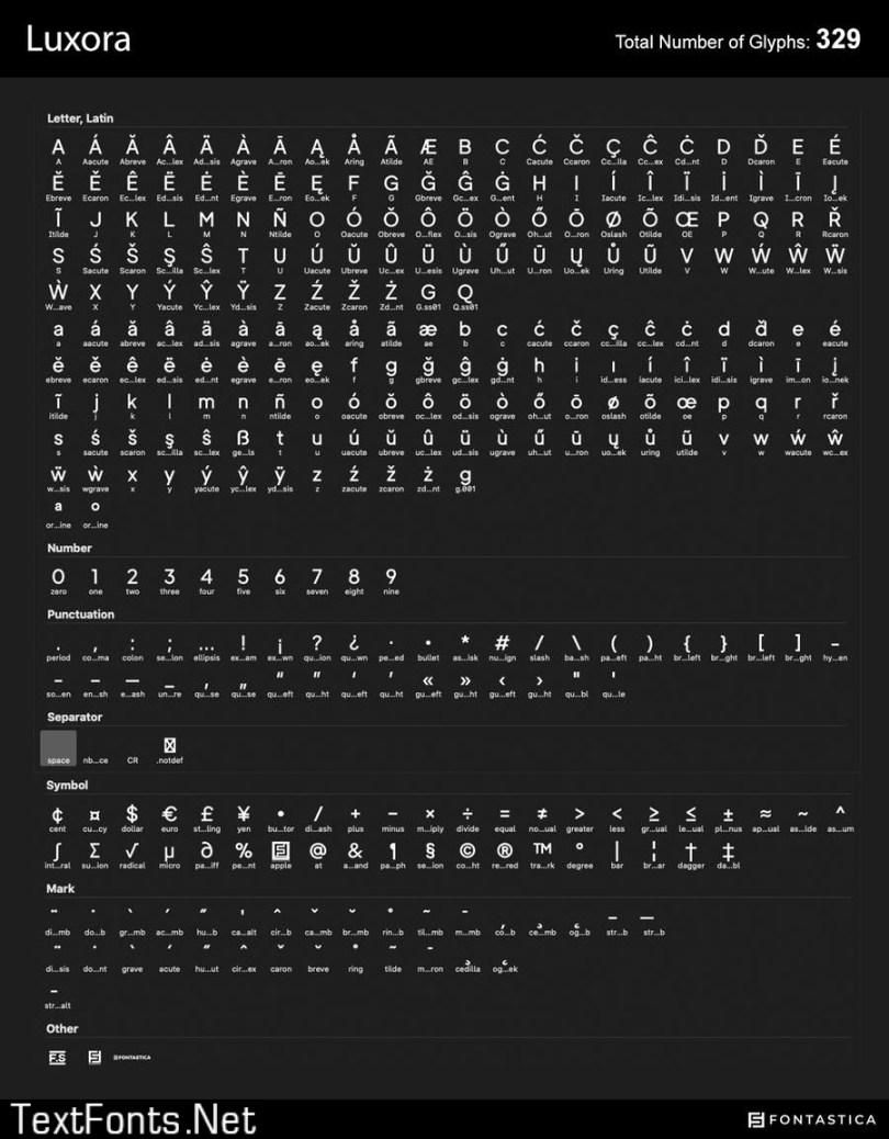 Luxora Grotesk - Clean & Minimalist Typeface