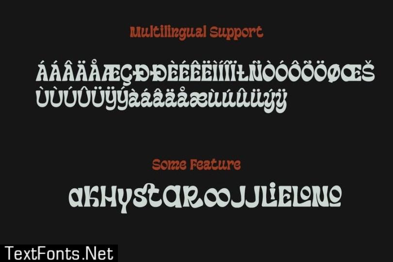 Machinkly Display Font
