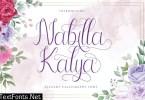 Nabilla Kalya Script Font