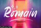 Romain SVG Sans Font