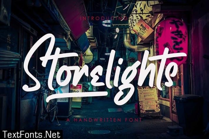 Storelights Font