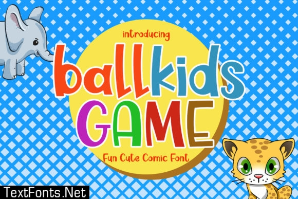 Ballkids Game Font