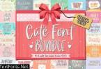 Cute Fonts Bundle