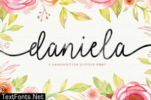 Daniela Script Font