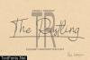 The Rustling Font