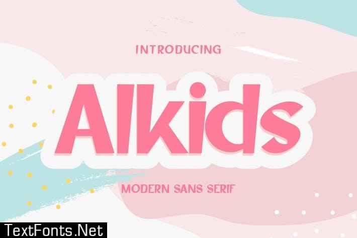 Alkids   Modern Sans Serif