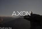 Axon Minimalist Font