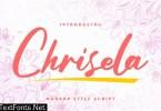 Chrisela | Modern Style Script Font