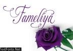 Fameliya Font