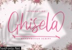 Ghisela | Handwritten Font