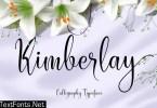 Kimberlay Font