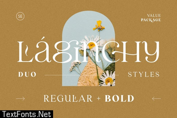 Laginchy - Quirky Serif (Regular & Bold)