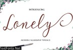 Lonely Font