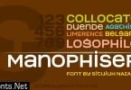 Manophiser Font