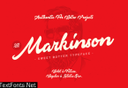 Markinson Font