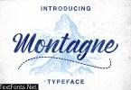 Montagne Font