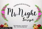 Mr. Night Font