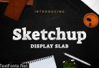Sketchup - Sketch Display Slab