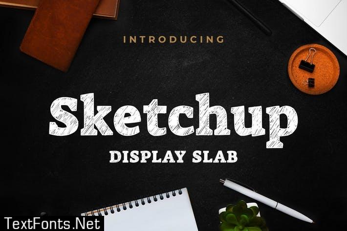 Sketchup - Sketch Display Slab