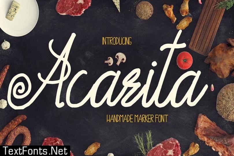 Acarita Font 509503