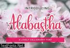 Alabastha Font