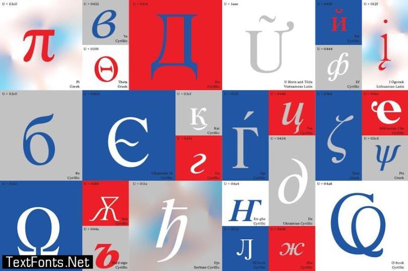 BD Megalona   Text Serif Font Family