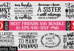 Best Friends SVG Bundle