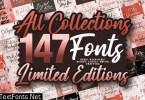 Big Fonts Bundle