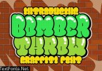 Bomber Throw Urban Graffiti Font