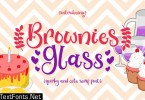 Brownies Glass Font