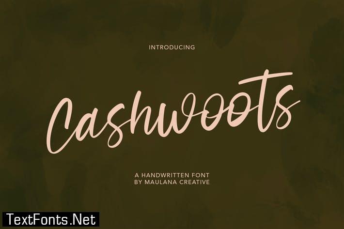Cashwoots Handwritten Font