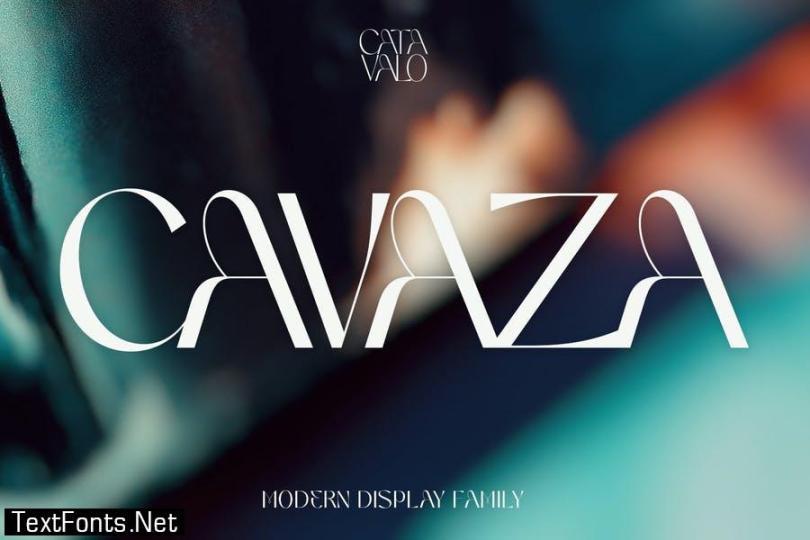 Catavalo - Modern Display Family