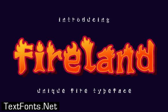 Fireland Font